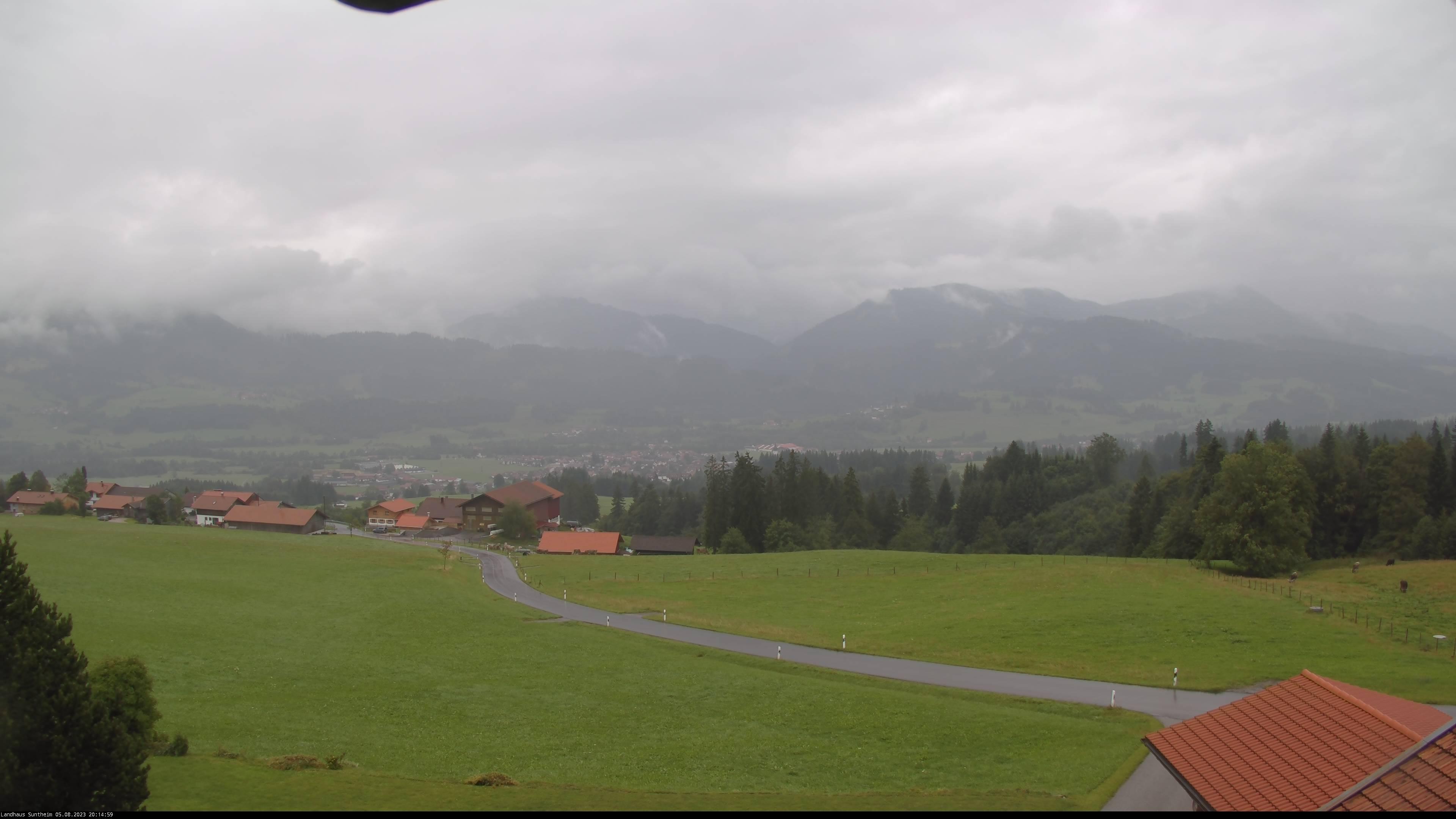 Blick von Oberellegg 1.100 m